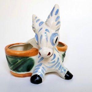 Donkey Spice Holder Rare Figurine
